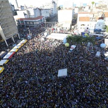 Milhares de fiéis participaram do encerramento das celebrações à Nossa Senhora do Carmo