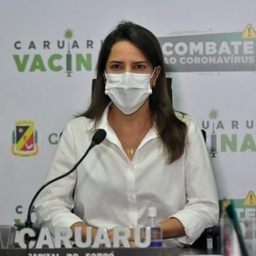 Prefeita de Caruaru testa positivo para a Covid-19