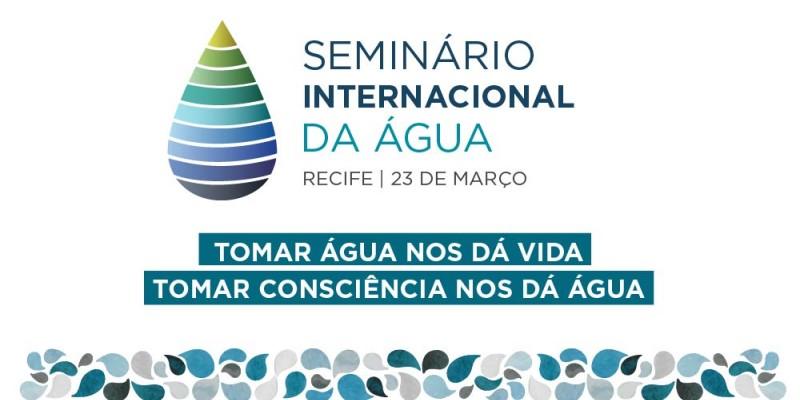 O Seminário Internacional da Água vai reunir nos dias 23 e 24 de março, especialistas brasileiros, francês, mexicanos e chilenos no Recife.