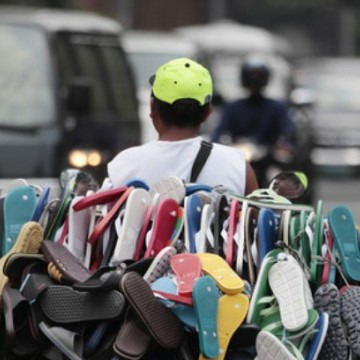 Os ambulantes e o trabalho informal