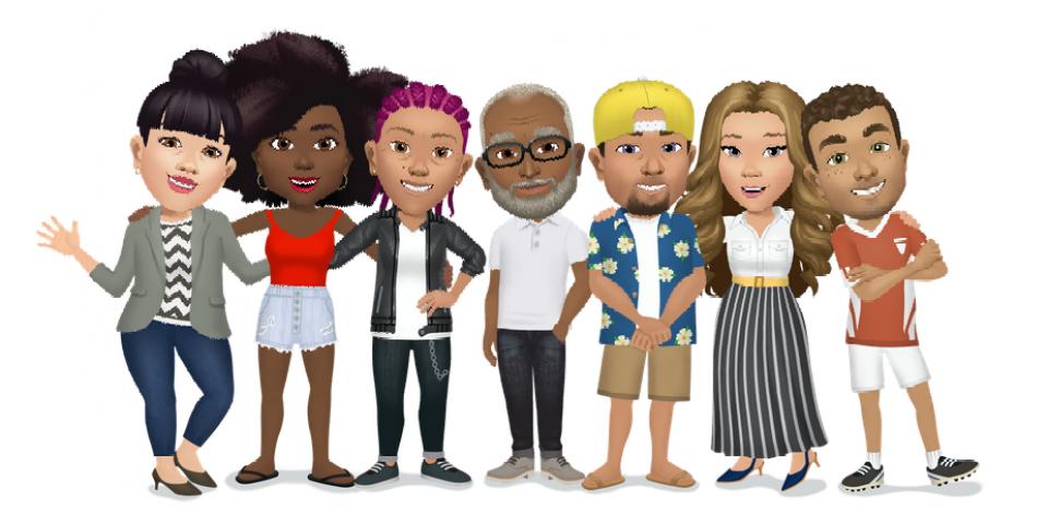Você já aprendeu a usar os avatares do Facebook?