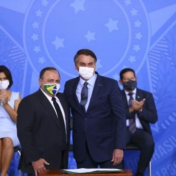 Efetivado no cargo, Pazuello diz que pandemia alcançou estabilidade