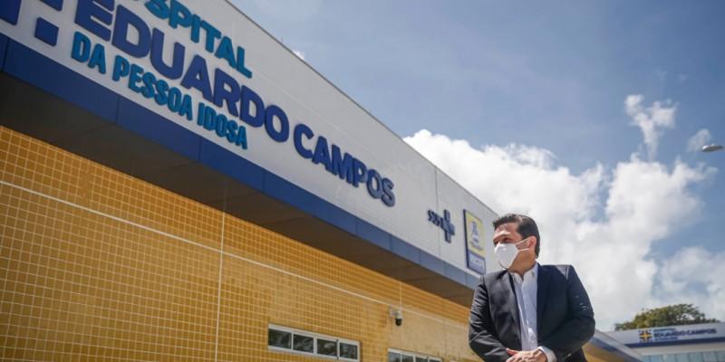 Até o momento, já foram investidos aproximadamente R$ 25 milhões na construção do novo hospital, feito para os cerca de 200 mil recifenses acima dos 65 anos de idade