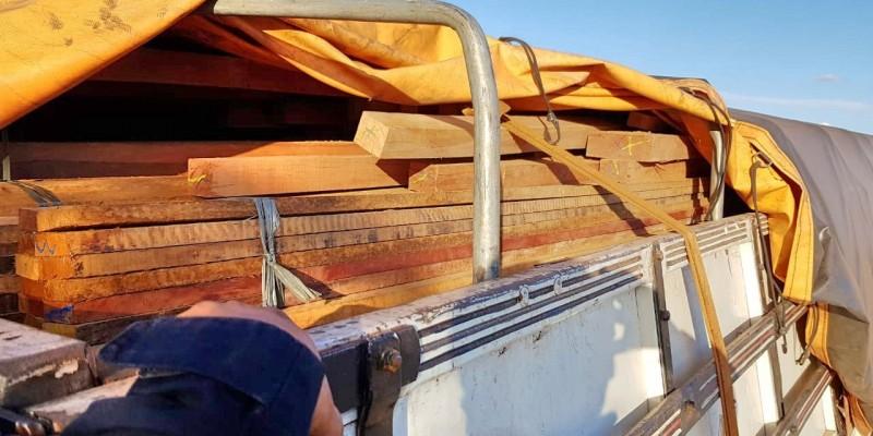De acordo com a PRF, o flagrante foi realizado durante a abordagem a um caminhão que havia saído do Pará com destino à Paraíba