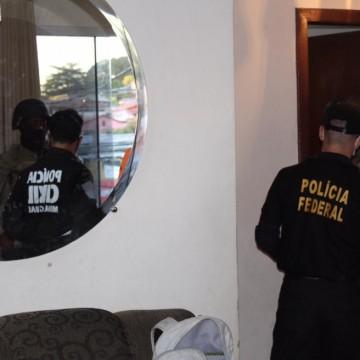 Operação da PF prende integrantes de quadrilha de tráfico de drogas com atuação nacional