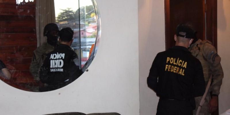 Em PE, foram presos integrantes da organização que cumpriam pena no presídio de Itaquitinga, na Mata Norte, e que moravam no Recife, em Olinda e em Jaboatão dos Guararapes, na Região Metropolitana
