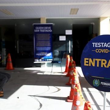 TIP inaugura posto de testagem para covid-19
