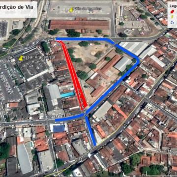 Rua Dr. Júlio de Melo será interditada nesta sexta-feira em Caruaru