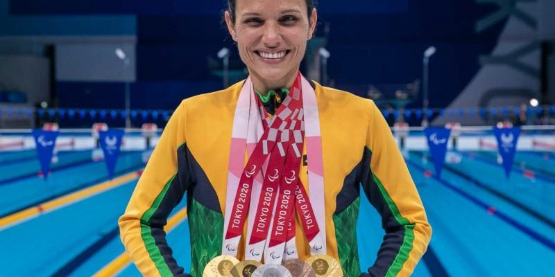 Todas as provas foram disputadas em classes para pessoas com deficiência visual, fazendo de Carol Santiago a maior medalhista brasileira em uma edição de jogos paralímpicos.