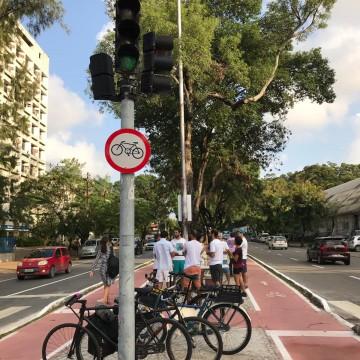 No dia do ciclista,  as conquistas e desafios de quem pedala no Grande Recife