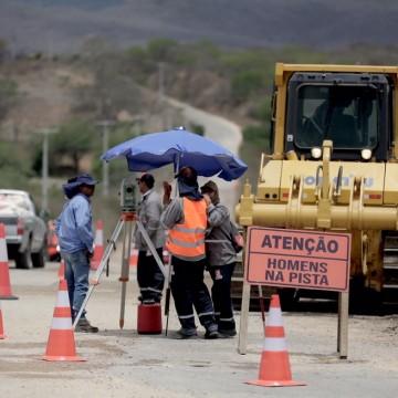 Obras na malha viária do estado são intensificadas