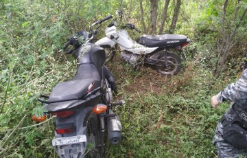 Polícia recupera quatro motos roubadas