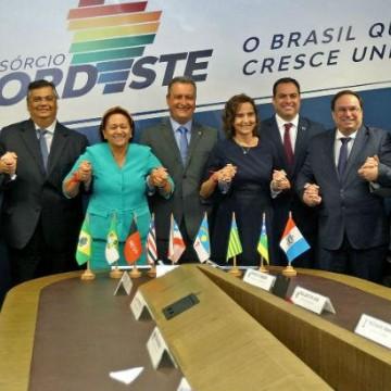 Reunião entre governadores debate visita à Europa e óleo nas praias
