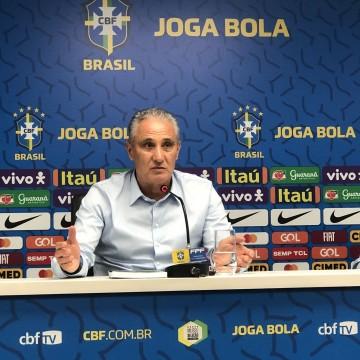 No Recife, Tite demonstra confiança em trabalho realizado na seleção