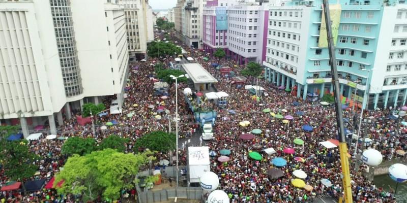 Recife contará com dois polos de apoio ao folião nos bairros de Santo Antônio e São José