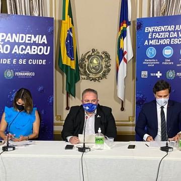 Plano de convivência com a Covid-19 fica mais flexível em Pernambuco