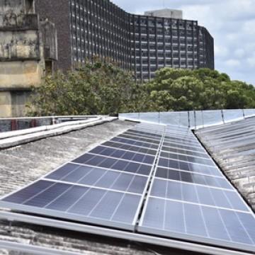 UFPE inicia implantação do sistema de geração de energia a partir da matriz solar