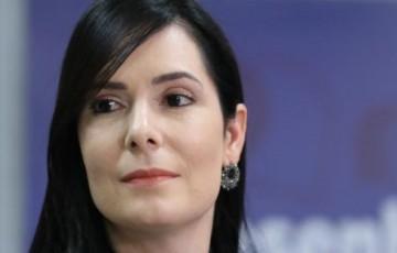 Patrícia Domingos registra BO na Delegacia de Boa Viagem