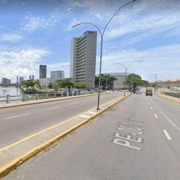 Segunda etapa de obra de recuperação interdita sentido Zona Sul da Ponte Giratória de quinta (15) a terça-feira (20) no Recife