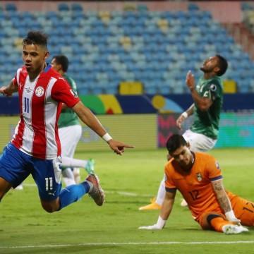 Com dois de Angel Romero, Paraguai estreia na Copa América com vitória