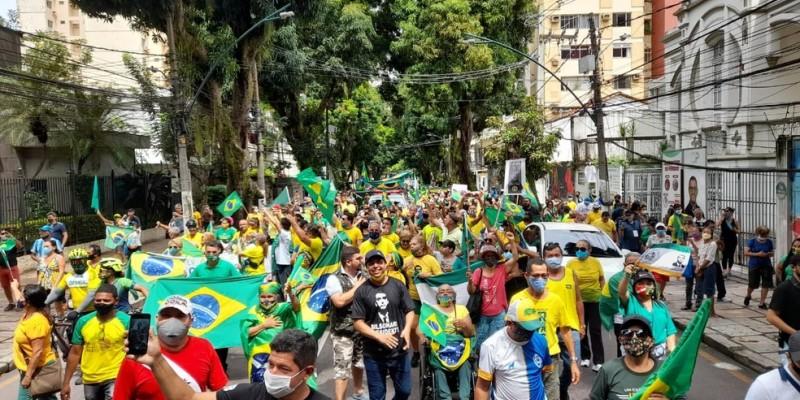 A recomendação se dá após a ação violenta e desnecessária dos policiais militares contra manifestantes que fizeram um ato contra o governo Bolsonaro no final do mês de maio
