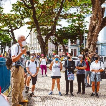"""Projeto """"Olha Recife"""" marca volta dos passeios turísticos guiados na cidade"""