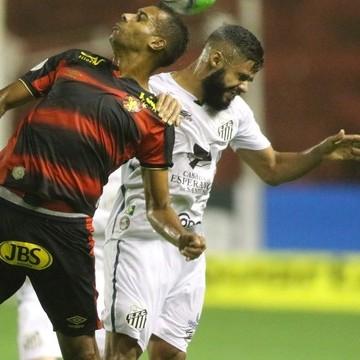 Sport perde em casa para o Santos e cai para 15ª colocação
