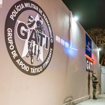 Camocim de São Félix ganha base do GATI