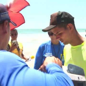 Vigilância Sanitária apreende alimentos em praias do Recife