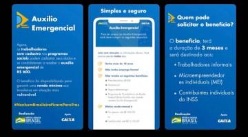 Caixa disponibiliza site e aplicativo para trabalhadores informais solicitarem auxílio de R$ 600