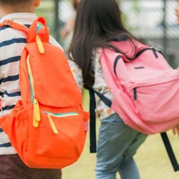 Excesso de peso da mochila de crianças pode causar má formação óssea, alerta fisioterapeuta