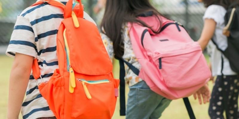 A Organização Mundial de Saúde (OMS) indica que o peso recomendado das mochilas é de 10% do peso da criança, além apresenta riscos