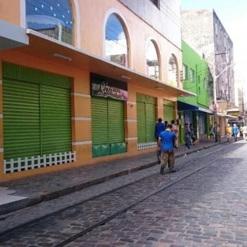 Comércio do Recife sente impacto do coronavírus