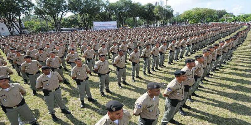 Segundo o secretário de Defesa Social, Antônio de Pádua, efetivo vai ser reforçado por bombeiros e guardas municipais