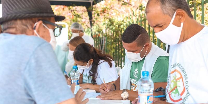 Coordenadora de vigilância sanitária do município, Gisele Lino, comenta sobre a Campanha