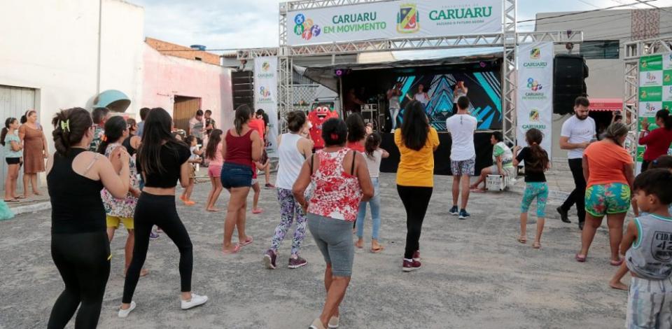 """Último """"Caruaru em Movimento"""" do ano acontecerá neste domingo (29)"""
