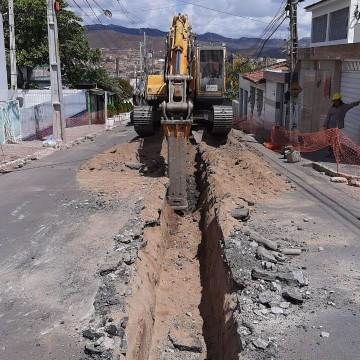 Compesa inicia implantação de ramais do sistema de esgotamento sanitário da cidade de bezerro