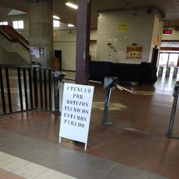 Estações da linha Centro do Metrô ficaram fechadas por cinco horas
