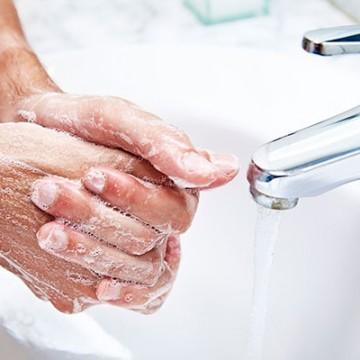 Higienização das mãos é a maneira mais eficaz de prevenção ao coronavírus