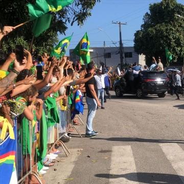 Presidente Jair Bolsonaro cumpre agenda em Pernambuco