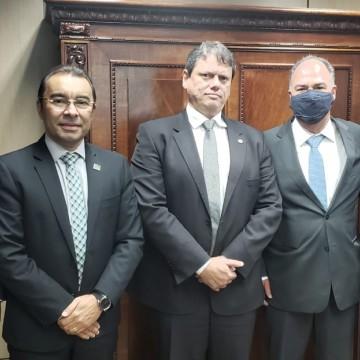 Prefeito de Toritama tem audiência com ministro da infraestrutura