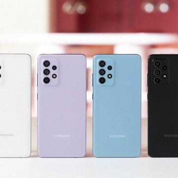 Nova linha de celulares intermediária Galaxy A da Samsung