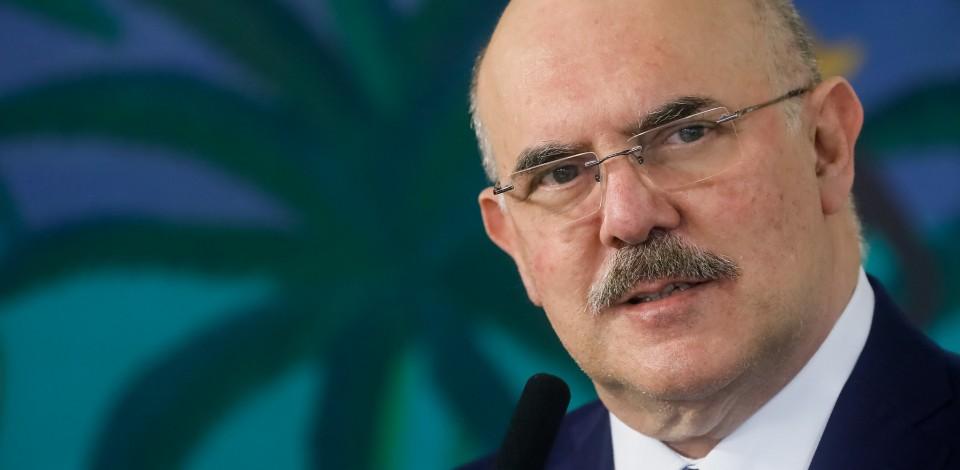 Ministro da Educação, Milton Ribeiro testa positivo para Covid-19