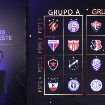 Definidos os grupos da Copa do Nordeste 2020