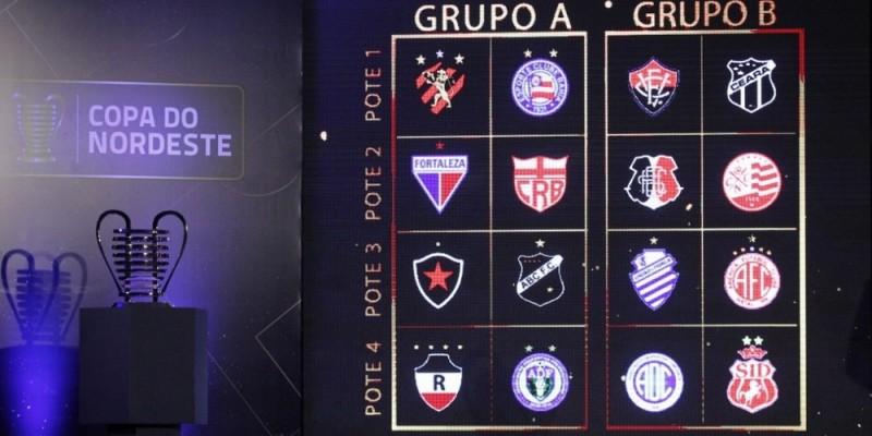 """Santa Cruz e Náutico estão no grupo """"B"""", enquanto o Sport ficou no grupo """"A"""""""