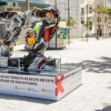 Recife lembra as vítimas do trânsito em evento educativo