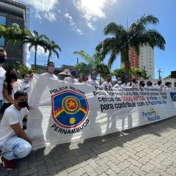 Aprovados em concurso público para a Polícia Militar reivindicam engajamento na corporação