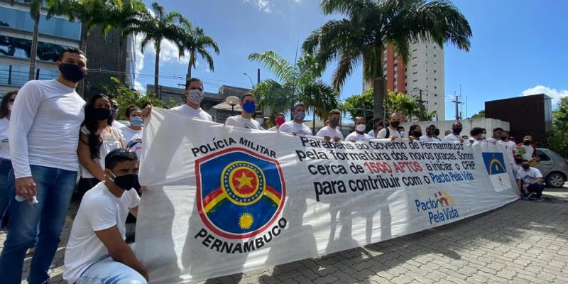 Em nota, a Secretaria de Defesa Social de Pernambuco afirmou que