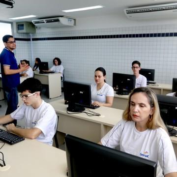 Senac abre 1583 vagas em cursos gratuitos de qualificação
