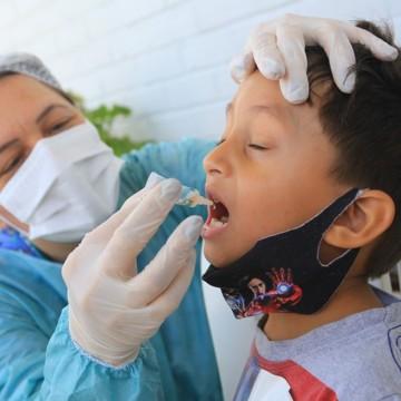 Campanha contra poliomielite é prorrogada no Recife